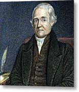 Noah Webster (1758-1843) Metal Print