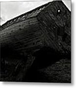 Old Abandoned Ships Metal Print