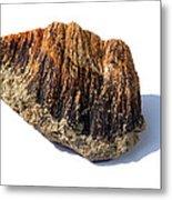 Rock From Meteorite Impact Crater Metal Print
