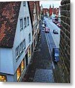 Rothenburg Medieval Old Town  Metal Print