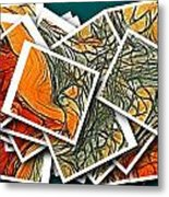The Art Abstract  Metal Print