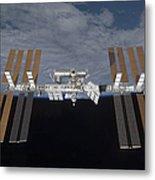 The International Space Station Metal Print