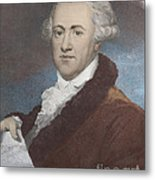 William Herschel, German-british Metal Print