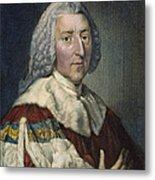 William Pitt (1708-1778) Metal Print
