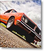65 Chevrolet Acadian Metal Print by Phil 'motography' Clark