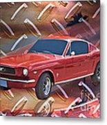 66 Fastback Metal Print