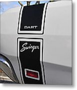 69 Dart Swinger Metal Print