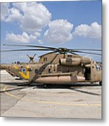 A Sikorsky Ch-53 Yasur Of The Israeli Metal Print