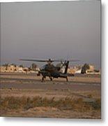 An Ah-64d Apache Longbow Block IIi Metal Print