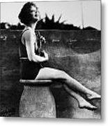 Clara Bow (1905-1965) Metal Print by Granger