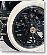 Classic Antique Car- Detail Metal Print