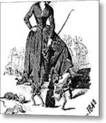 George Sand (1804-1876) Metal Print