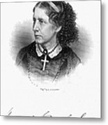 Harriet Beecher Stowe Metal Print