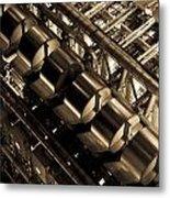 Lloyd's Building London Abstract  Metal Print
