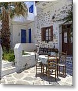 Paros - Cyclades - Greece Metal Print