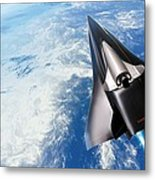 Saenger Horus Spaceplane, Artwork Metal Print
