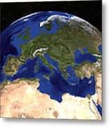 The Blue Marble Next Generation Earth Metal Print