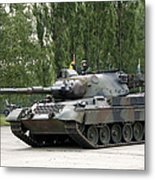 The Leopard 1a5 Of The Belgian Army Metal Print
