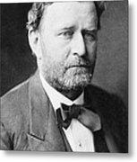Ulysses S. Grant, 18th American Metal Print