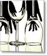 Wine Glasses  Metal Print by Blink Images