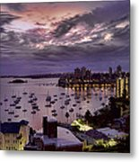 7th Floor View Macleay Street Potts Point Sydney Early Morning Metal Print