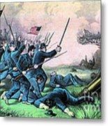 American Civil War, Battle Metal Print