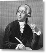 Antoine Laurent Lavoisier Metal Print