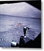 Apollo Mission 17 Metal Print