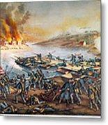 Battle Of Fredericksburg Metal Print