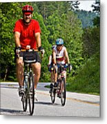Bicycle Ride Across Georgia Metal Print