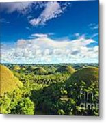 Chocolate Hills Metal Print