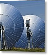 Concentrating Solar Power Plant Metal Print