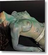 Kasper Body Painting Metal Print