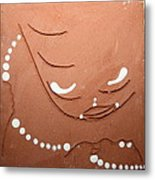 Mama - Tile Metal Print by Gloria Ssali