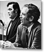 Norman Mailer (1923-2007) Metal Print