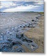 Oil Industry Pollution Metal Print