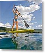 Paddle Board Metal Print