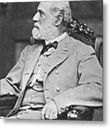 Robert E. Lee (1807-1870) Metal Print