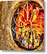 Sedona Tlaquepaque Shopping Center Metal Print