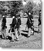Soldiers March Metal Print