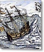 Willem Barents (c1550-1597) Metal Print
