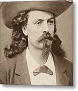 William F. Cody (1846-1917) Metal Print