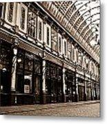 Leadenhall Market London Metal Print