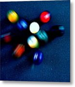 9 Ball Break Metal Print