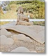 Fairytale Sand Sculpture  Metal Print