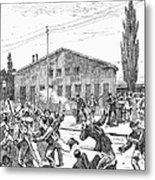 Great Railroad Strike, 1877 Metal Print