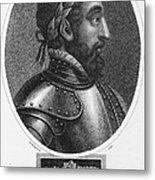 Henry II (1519-1559) Metal Print