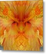 Hibiscus Mystery Metal Print