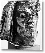 Honore De Balzac (1799-1850) Metal Print