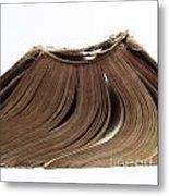 Old Book Metal Print by Bernard Jaubert